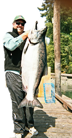 Doug Ferrier's 62.55 lb Chinook Salmon