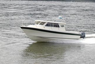 24' Skagit Orca XLC Extended Cabin is built in the Pacific Northwest for fishing on Pacific Northwestern Waters. Comfort and ultimate fishability.